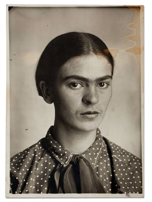Frida Kahlo by Guillermo Kahlo - circa 1926