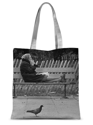 Woman Smoking In Lambeth, London 1979 - Tote Bag