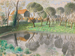 Newt Pond by Eric Ravilious (30x40) - 1932