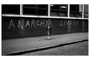 London graffiti anarchy 1976