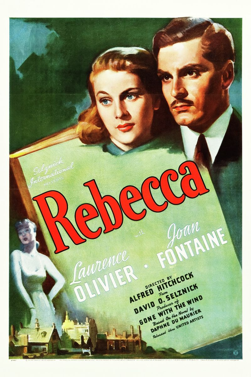 Rebecca Movie Poster - 1939