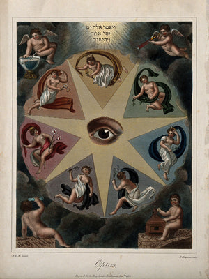 An Eye in a Star by J. Chapman - 1820