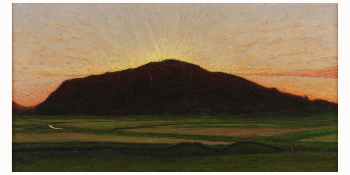Afterglow Afterglow by Karl Nordström - 1909