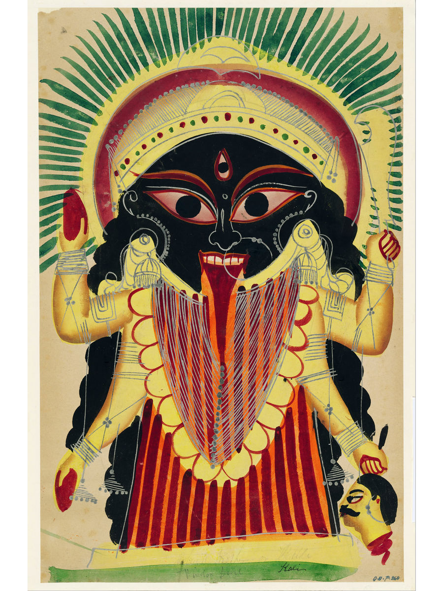 The Goddess Kali - 19th Century