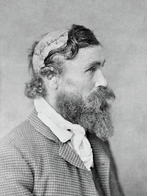 Portrait of Scalped Robert McGee by E.E. Henry - 1890