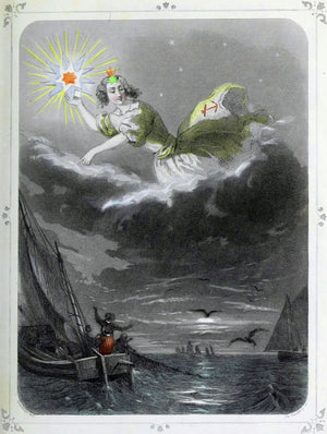 Star of the Sea by J.J. Grandville - 1847