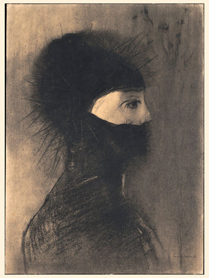 Armour by Odilon Redon - 1891