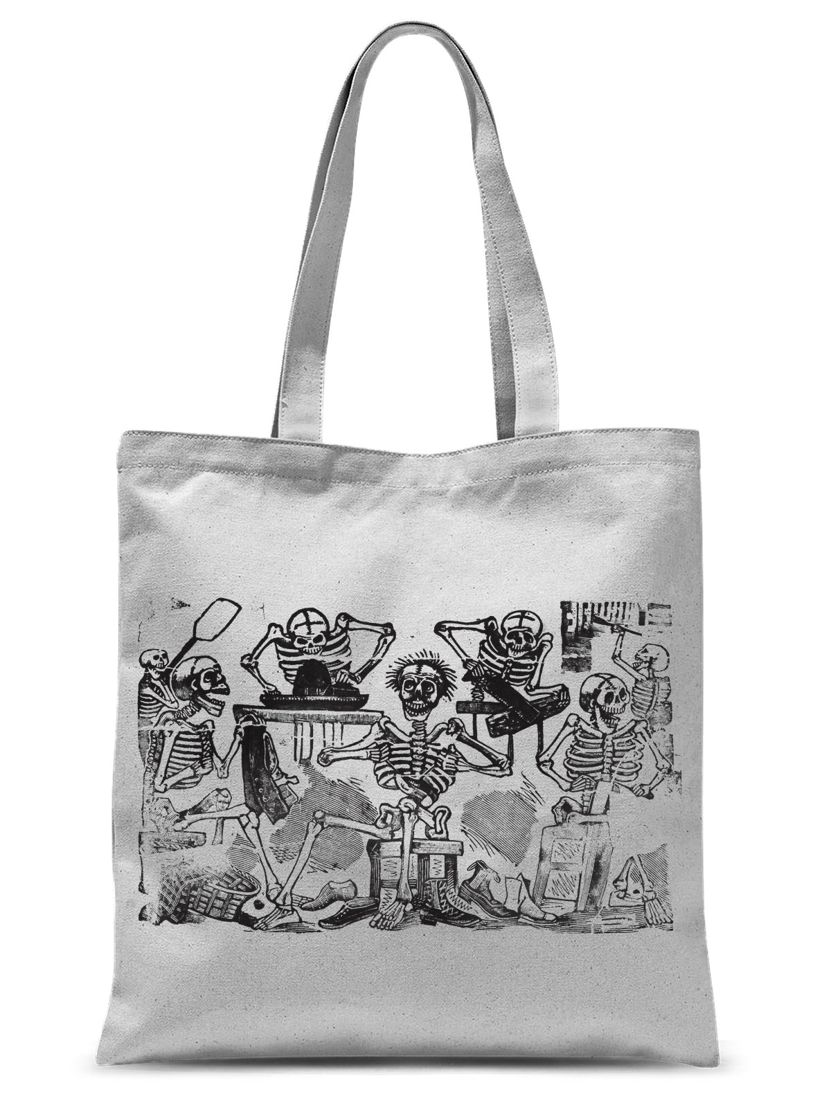 Skeletons as Artisans by José Guadalupe Posada, c. 1890–1910 - Tote Bag