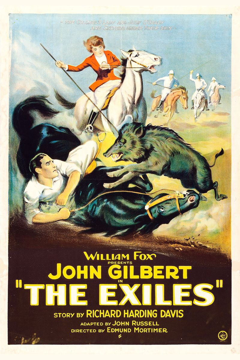 Poster for the Movie 'The Exiles' - 1923