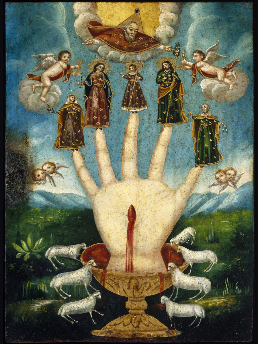 Mano Poderosa (The All-Powerful Hand), or Las Cinco Personas (The Five Persons)