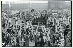 Poll Tax Protest in Liverpool by Dave Sinclair - 1989