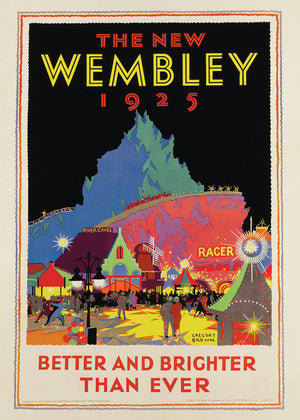The New Wembley by Gregory F. Brown - 1925