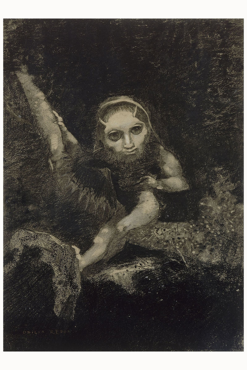 Caliban by Redon