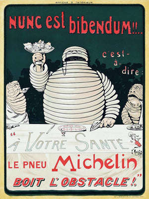 Michelin Poster by O'Galop (Marius Rossillon) -  c.1898