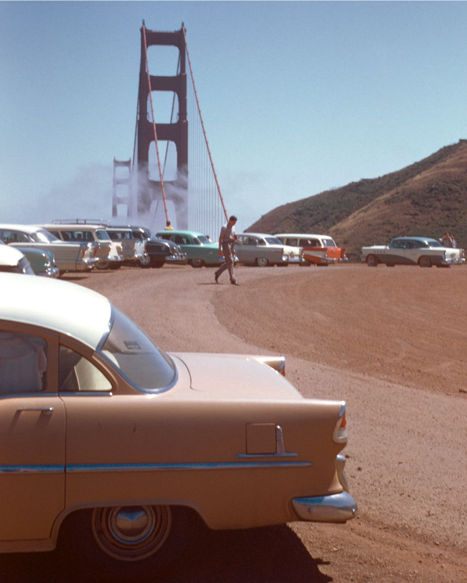 Golden Gate Bridge, San Francisco by Chalmers Butterfield - 1955