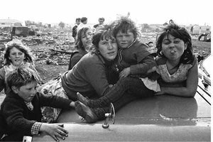 Gypsies in East London by Steve Lewis - 1960s