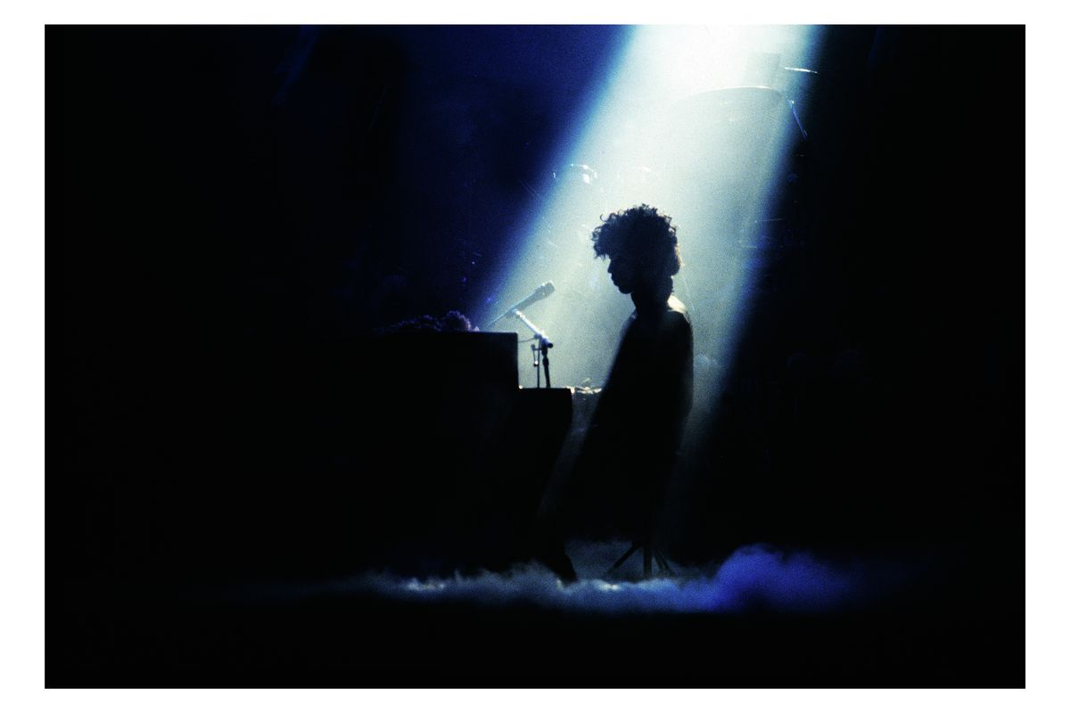 Prince at Radio City, New York by Mark Weiss - 1985