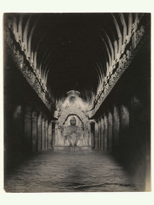 Sutar ka Jhopda Cave Interior by Alfred William Plâté - 1890-1900