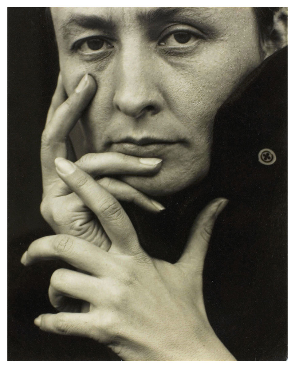 Portrait of Georgia O'Keeffe by Alfred Stieglitz - 1918