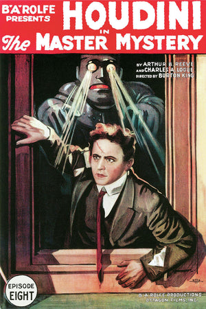 The Master Mystery, movie poster - 1919