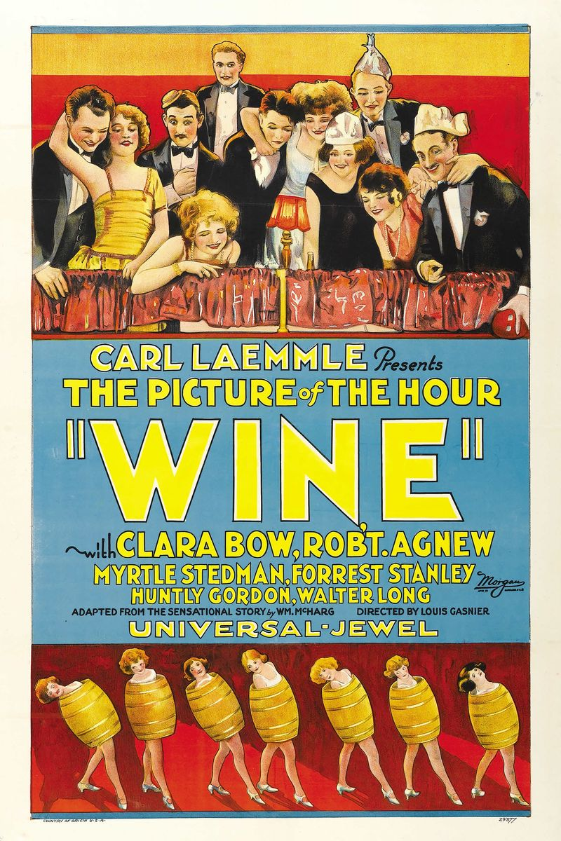 Poster for the Movie 'Wine' - 1924