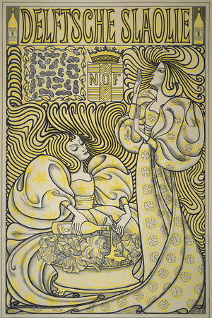 Poster for Delft Salad Oil, Jan Toorop, 1894