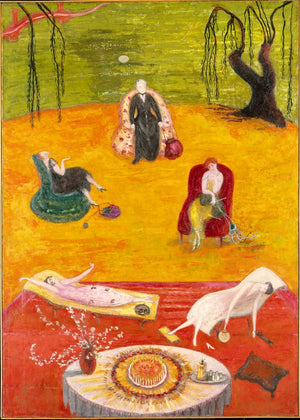 Heat by Florine Stettheimer - 1919