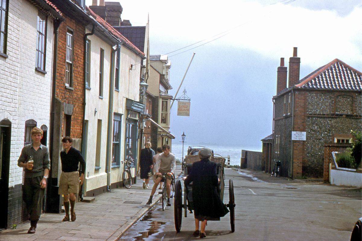 East Street, Southwold by Hardwicke Knight - c.1955