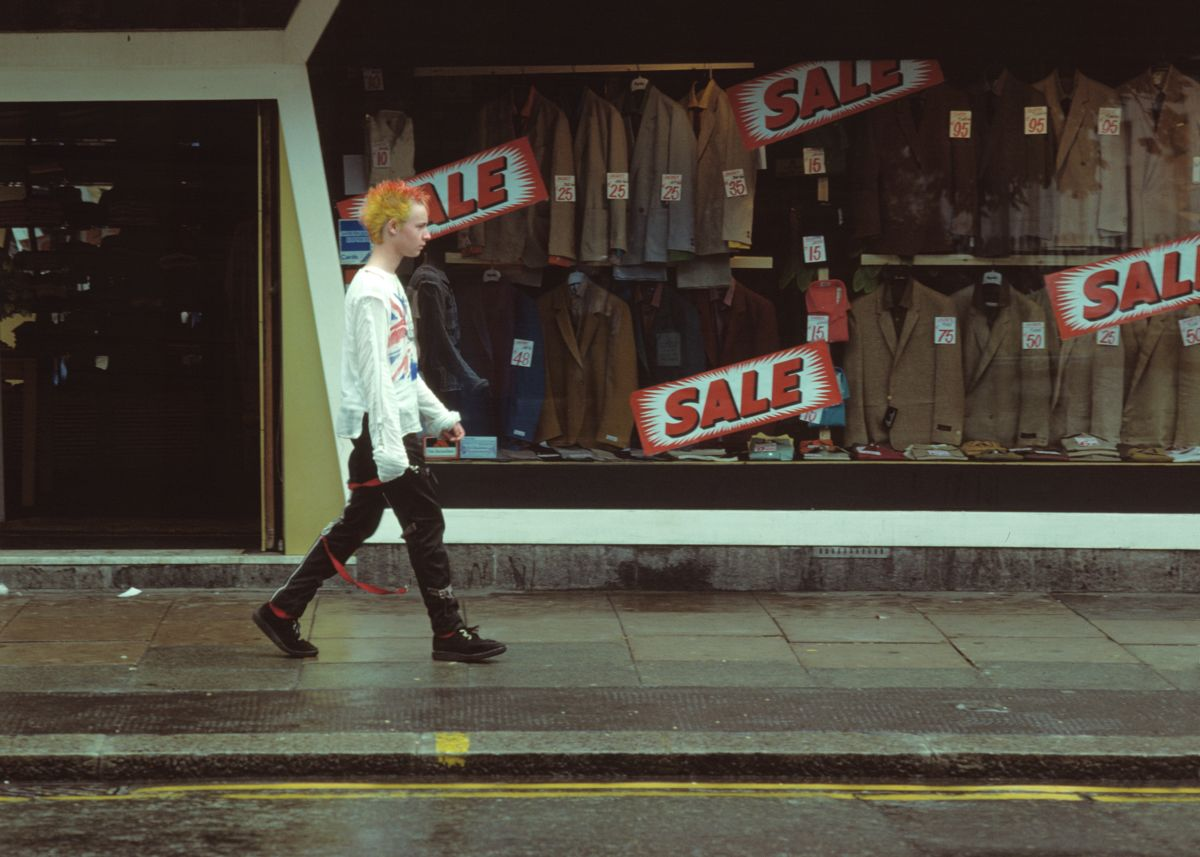 London 'Punk' Sale by George Kindbom - 1979
