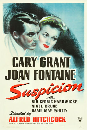 Suspicion Movie Poster - 1941