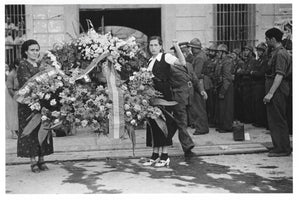 Funeral of Generl Lukacs, Valencia by Gerda Taro - June 16th, 1937