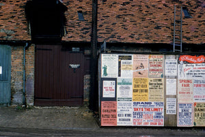 Posters in St Albans by Hardwicke Knight - c. 1955