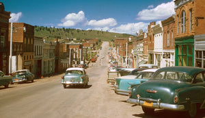 Cripple Creek, Colorado by Chalmers Butterfield - 1957