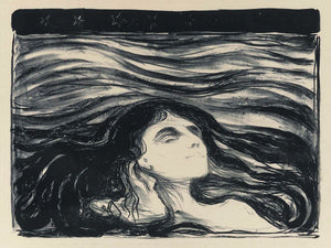 On the Waves of Love by Edvard Munch - 1896