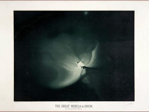 The Great Nebula in Orion by Etienne Trouvelot - 1882