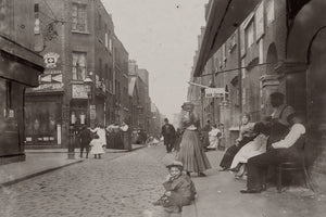 Street Holiday in London by Jack London - 1902