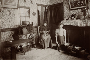 Part of a Room to Let in London's East End by Jack London - 1902