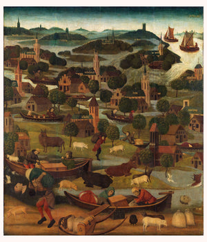The Saint Elizabeth's Day Flood - c. 1490 - c. 1495