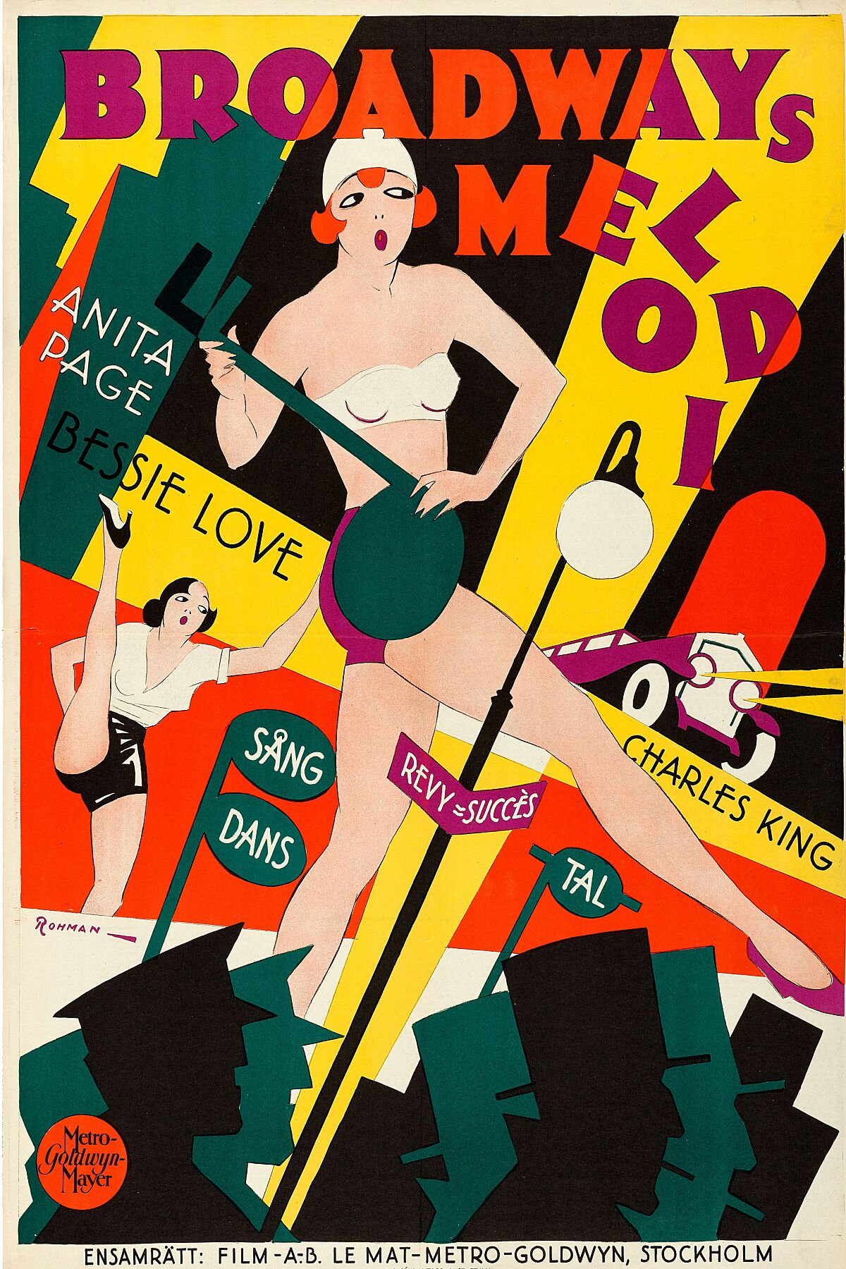 Broadway Melody by Eric Rohman - 1929