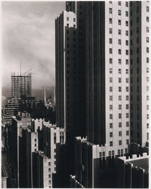 New York [from the Shelton] by Alfred Stieglitz - 1930
