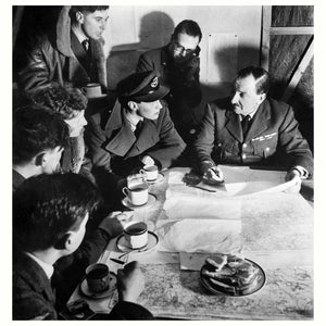 An RAF Bomber Crew by Cecil Beaton - 1941