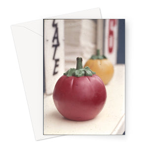 Plastic Tomato by Bob Hyde, 1960s - Greeting Card