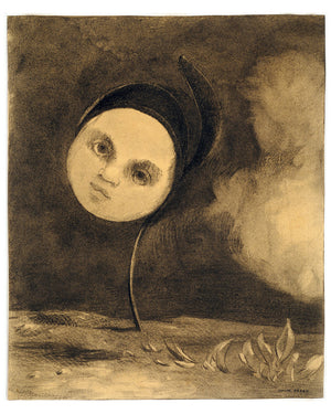 Strange Flower by Odilon Redon - 1880