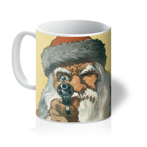 Santa Claus With a Handgun by Will Crawford - 1912, Mug