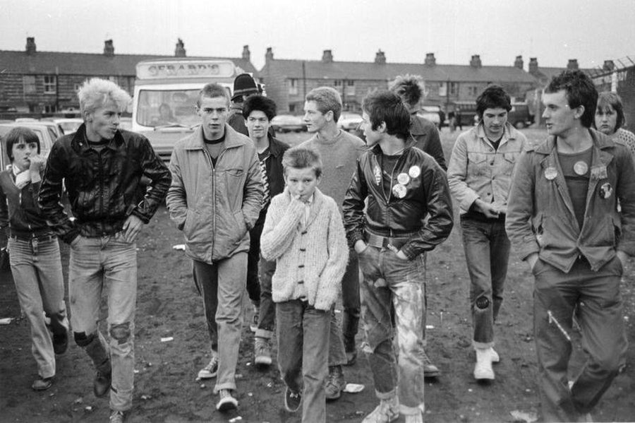 Off To The Match: Football Fans In Manchester by Iain S. P. Reid, c. 1977