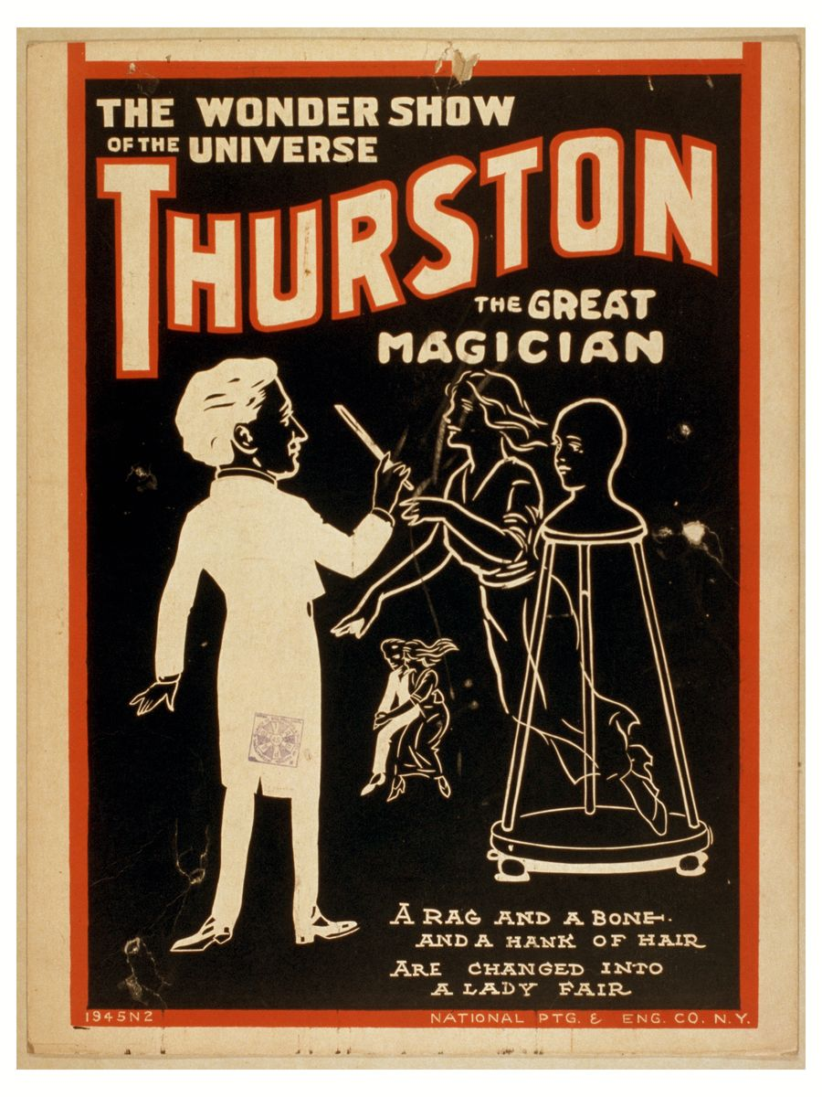 Thurston the Great Magician - The Wonder Show of the Universe!