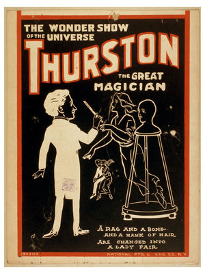 Thurston the Great Magician, The Wonder Show of the Universe! - 1925