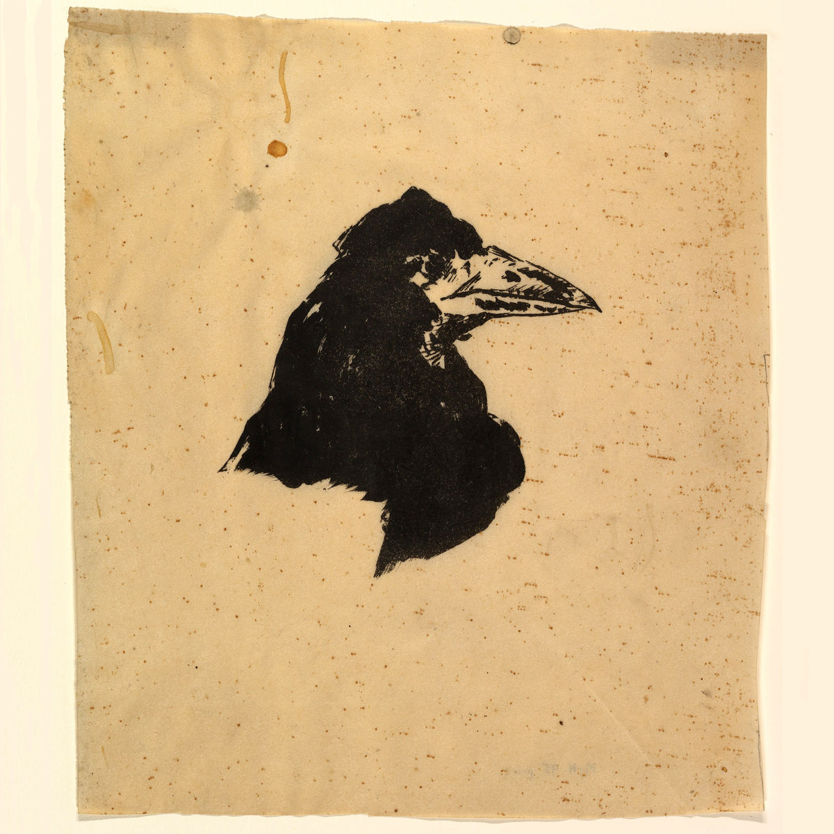 Design for the Poster and Cover for 'The Raven' by Édouard Manet - 1875