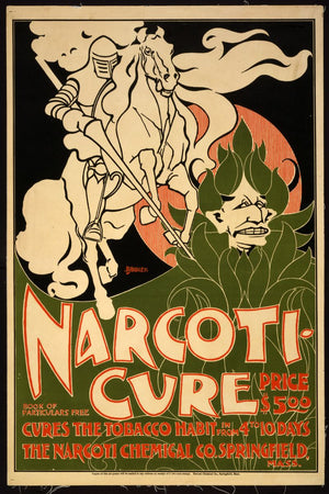 NARCOTI-CURE, advert - 1895