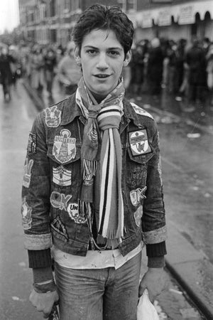 Jean Jacket Football Fan by Iain S.P. Reid c. 1977